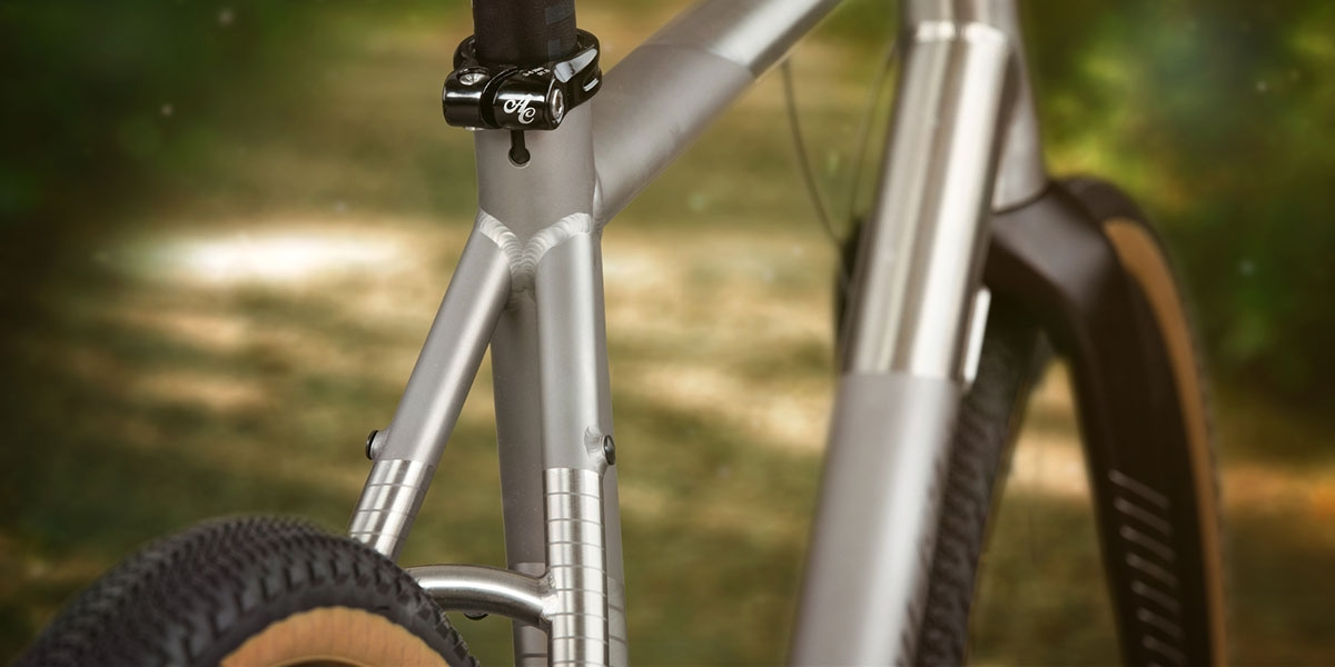 All-City Cosmic Stallion Titanium Frameset seatstay detail