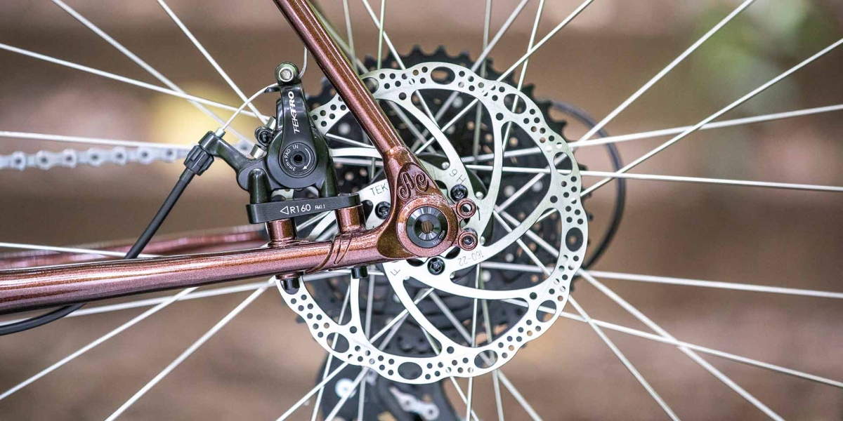Copper All-City Cycles Gorilla Monsoon Adventure gear view
