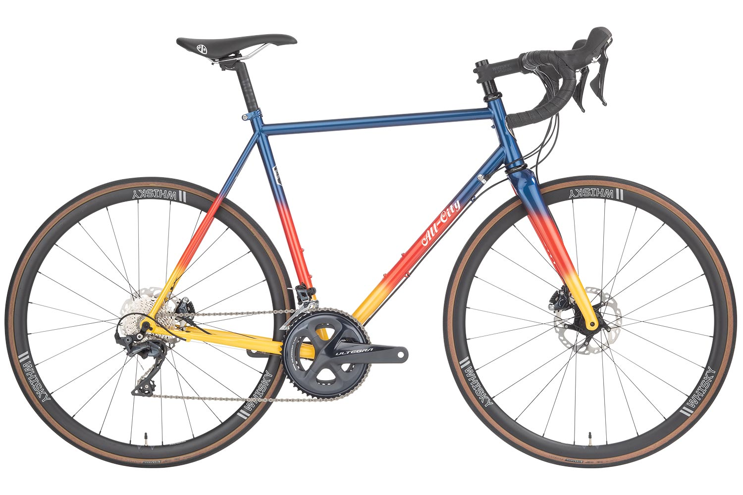 All City Cycles Zig Zag Ultegra bike
