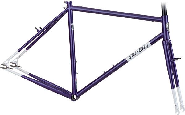 Nature Boy - Purple/White