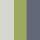 Gunmetal/Sage/Cream Stripe Swatch Color