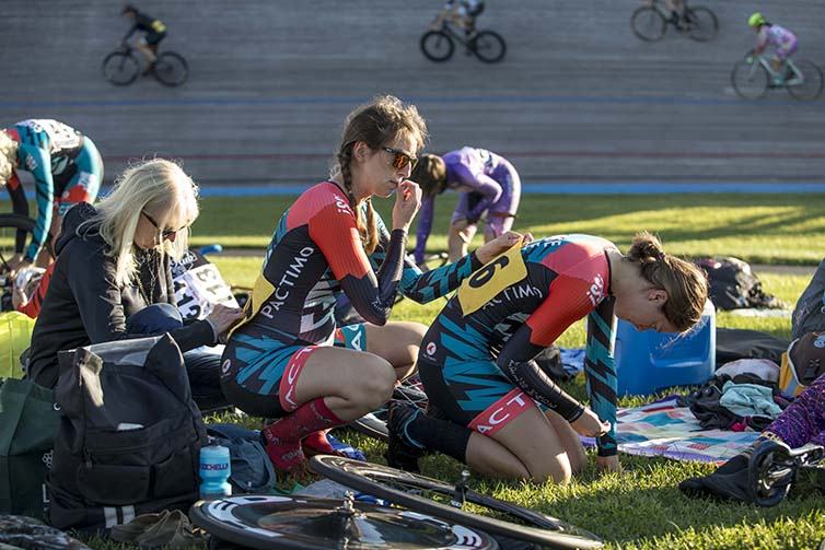 Riders sit and rest on final day of Velodrome