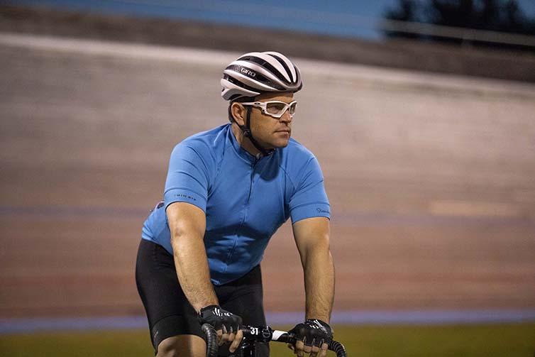 Jason Lardy at velodrome