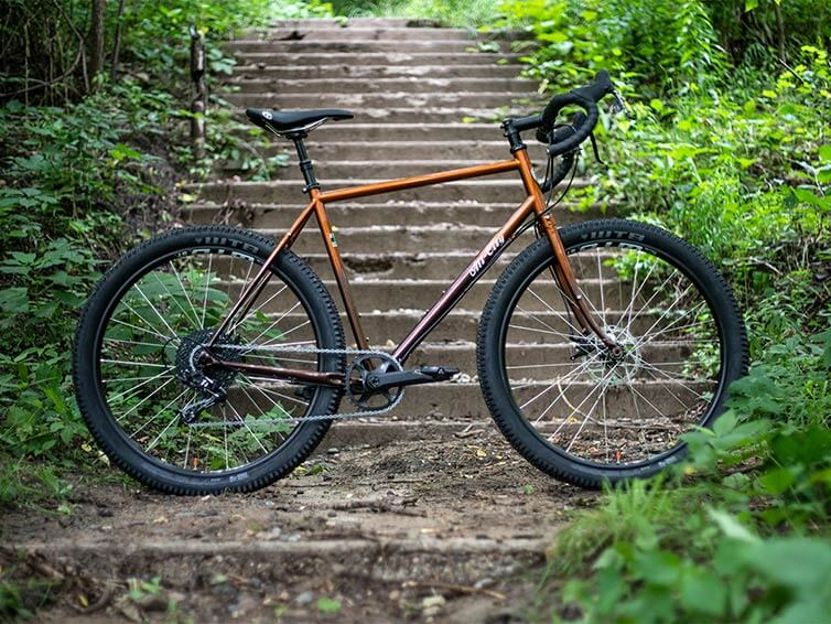 Gorilla Monsoon Root Beer bike - side view