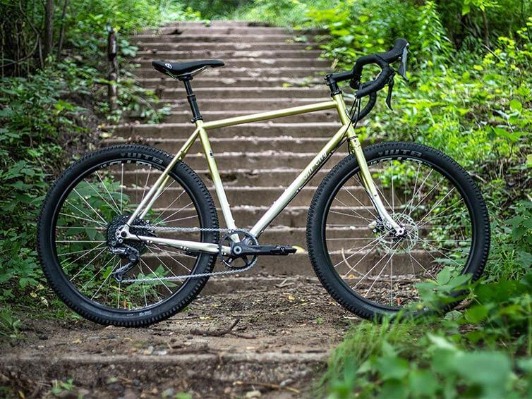 Gorilla Monsoon Pineapple Sundae bike - side view
