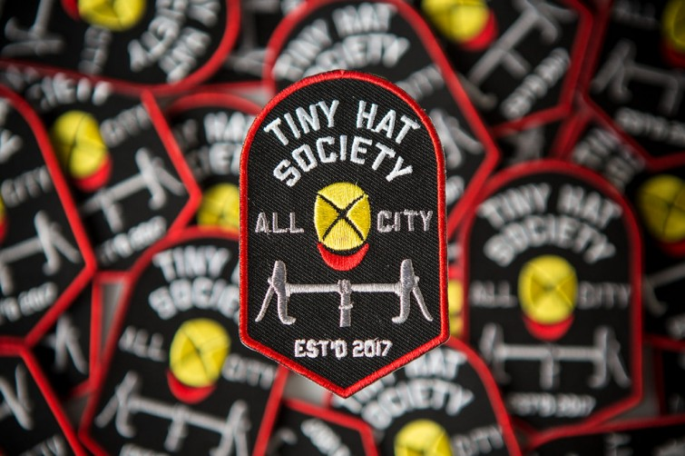 Tiny Hat Society Patch