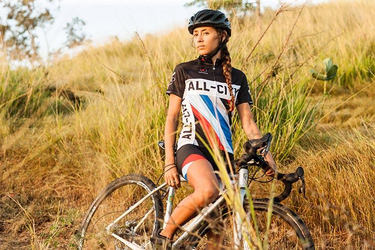 A rider in grassland