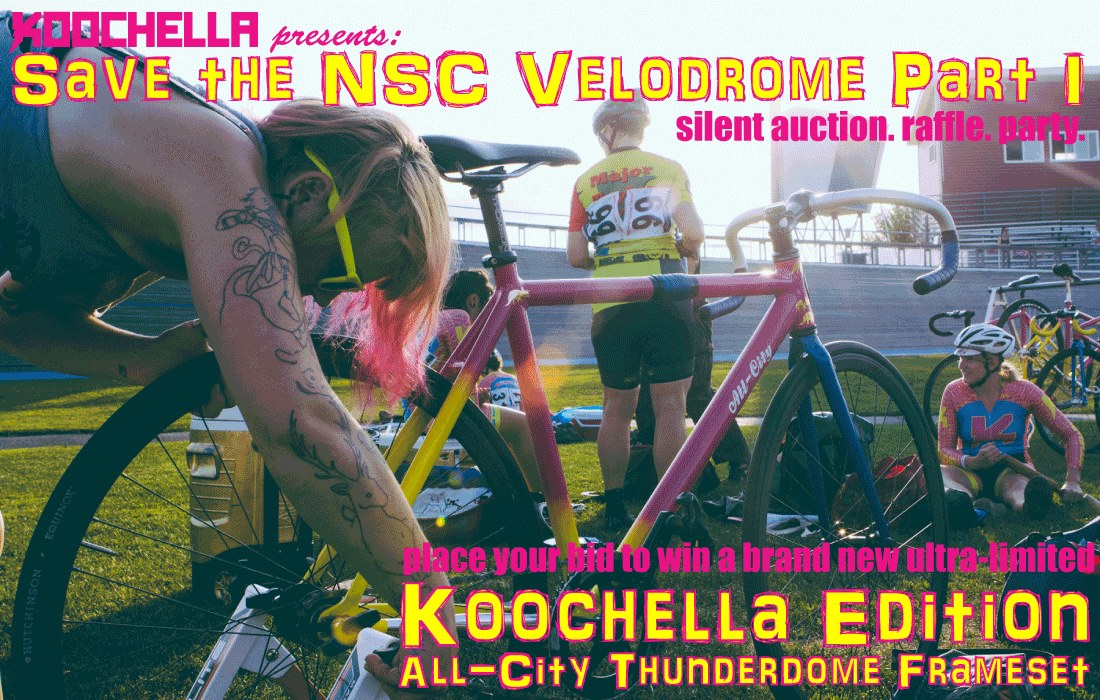 Save the NSC Velodrome Part 1