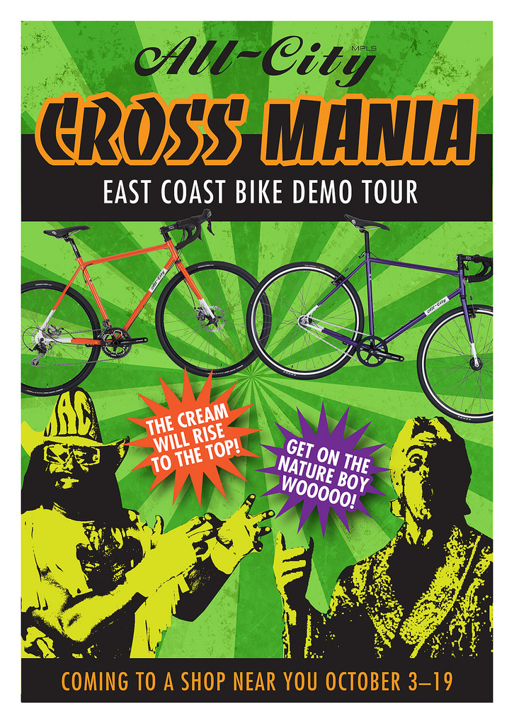 East Coast Demo Tour October 3-19