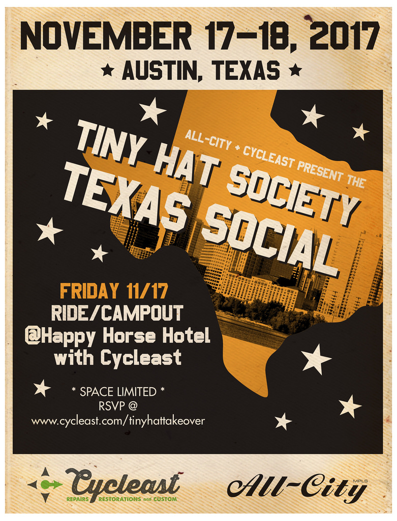 Join the Texas Social Campout:  November 17-18th
