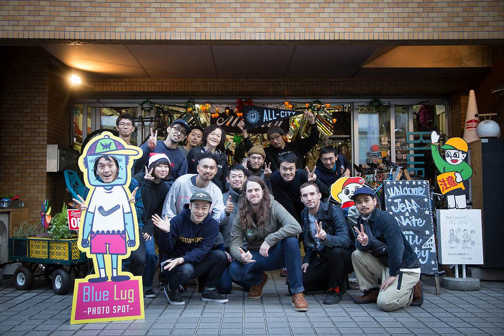 All-City Japan Tour: Shop Visit with Blue Lug