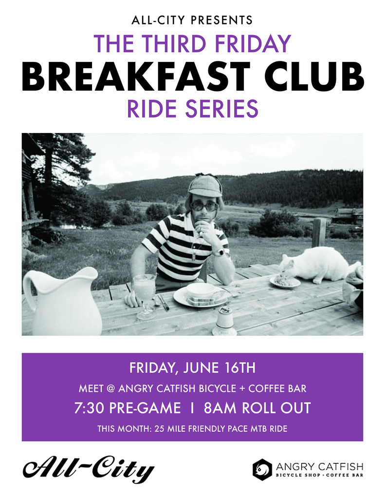Breakfast Club - Monthly Ride Series - MPLS - Ride #2