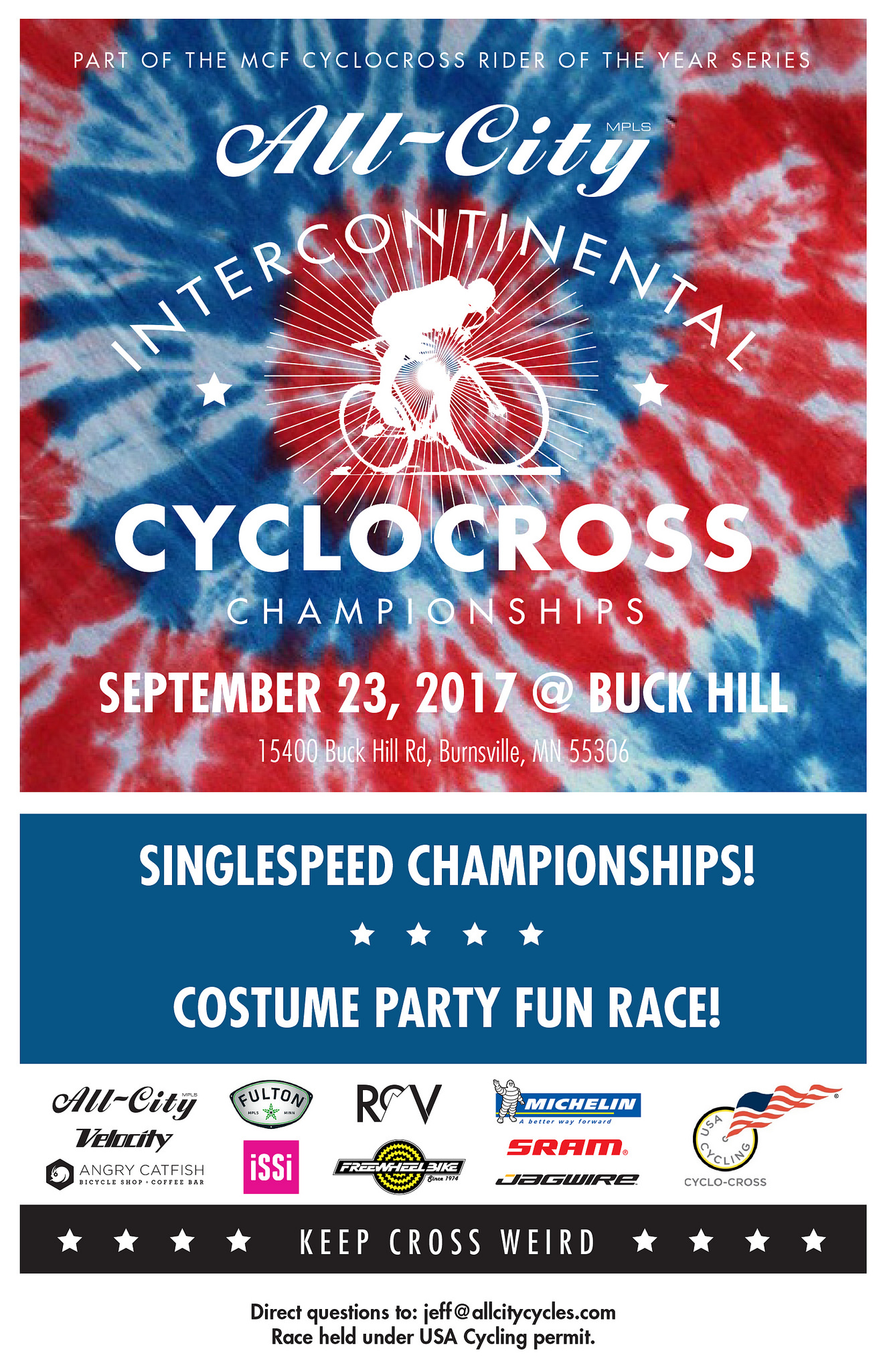 All-City Intercontinental Cyclocross Championships 9/23