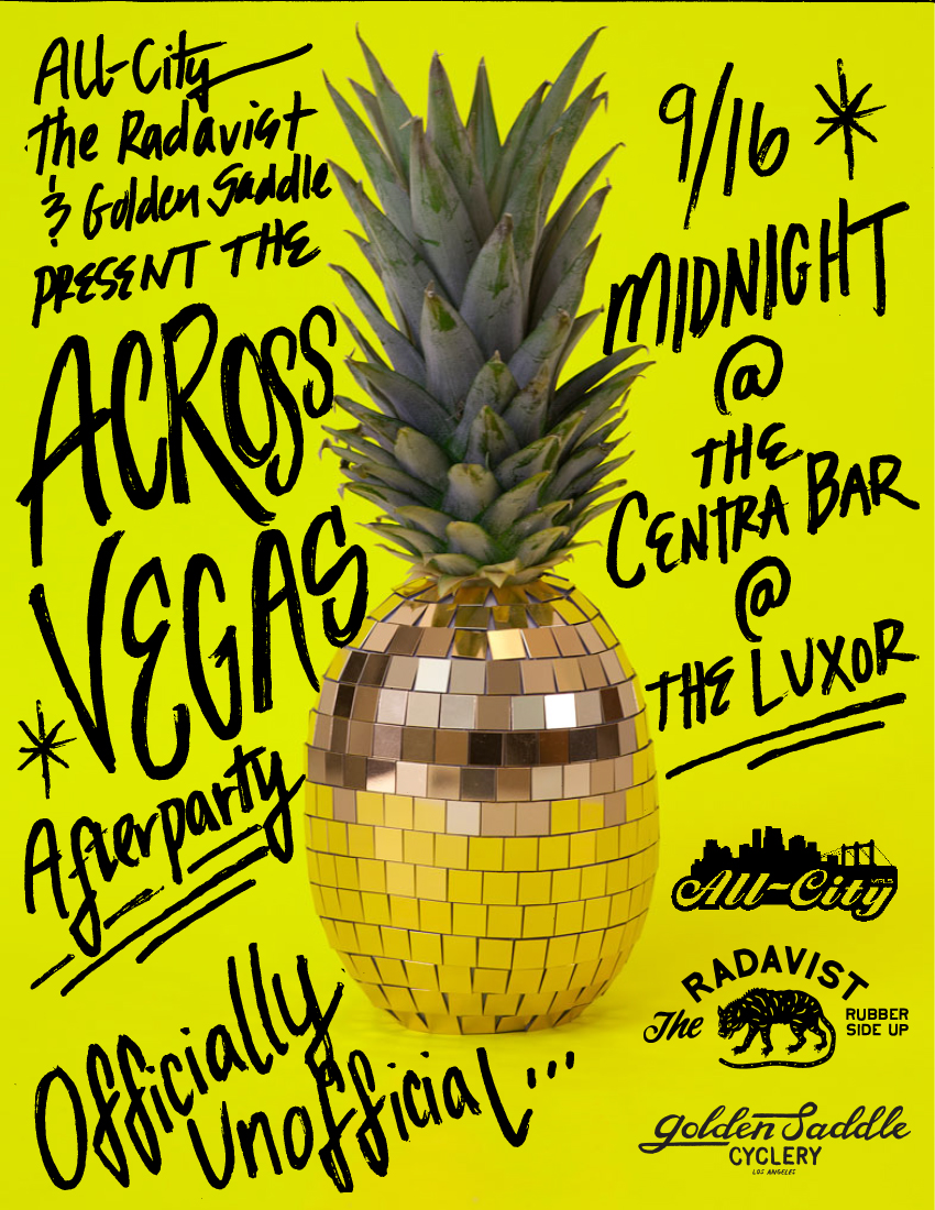 Hey Interbike! We're throwing a party!