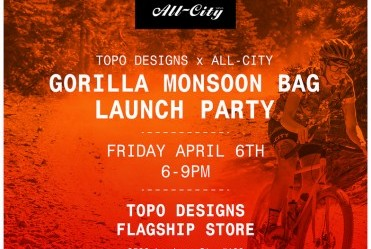 All-City X Topo Designs Bag Launch - Denver