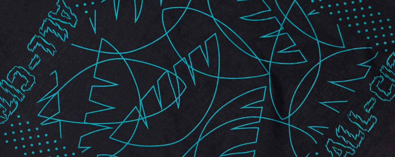 Night Claw Bandana design close-up