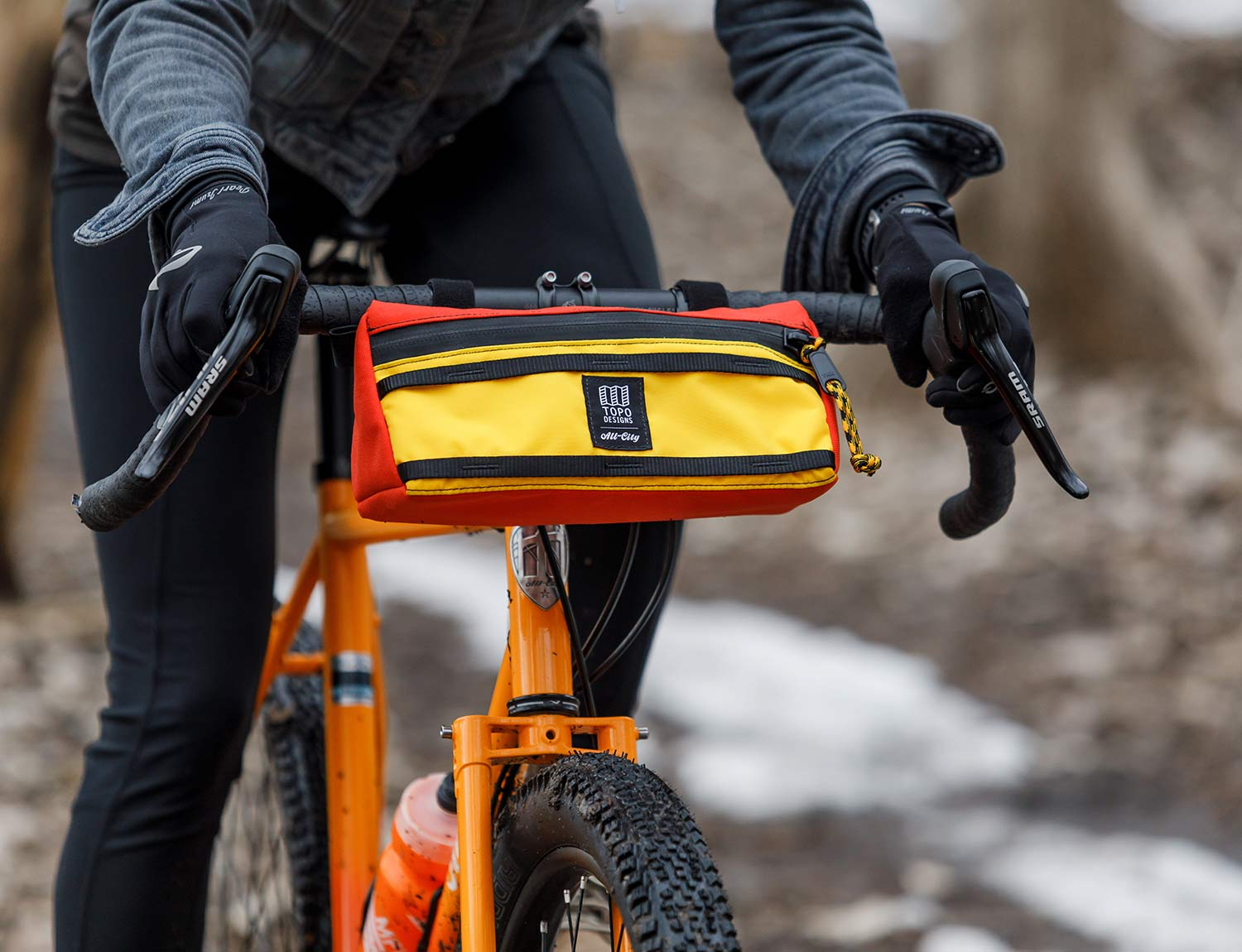 All City X Topo Designs Handlebar Bag