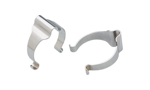 Silver All-City Cable Clamps on white background