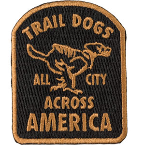 Trail Dogs Across America Patch
