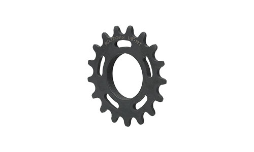 Black All-City Standard Cog on white background