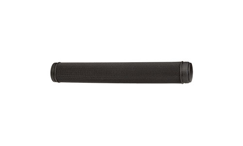 All-City black standard track grip against white background