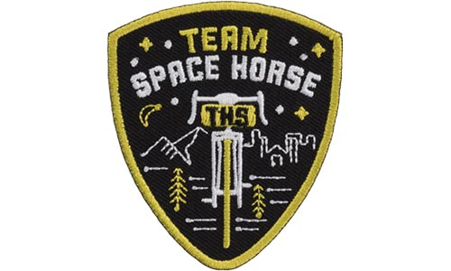 Team Space Horse Patch