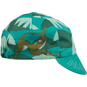 All-City Night Claw Cycling Cap, side view on white background, 3 of 4
