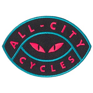 All-City Night Claw Patch on white background