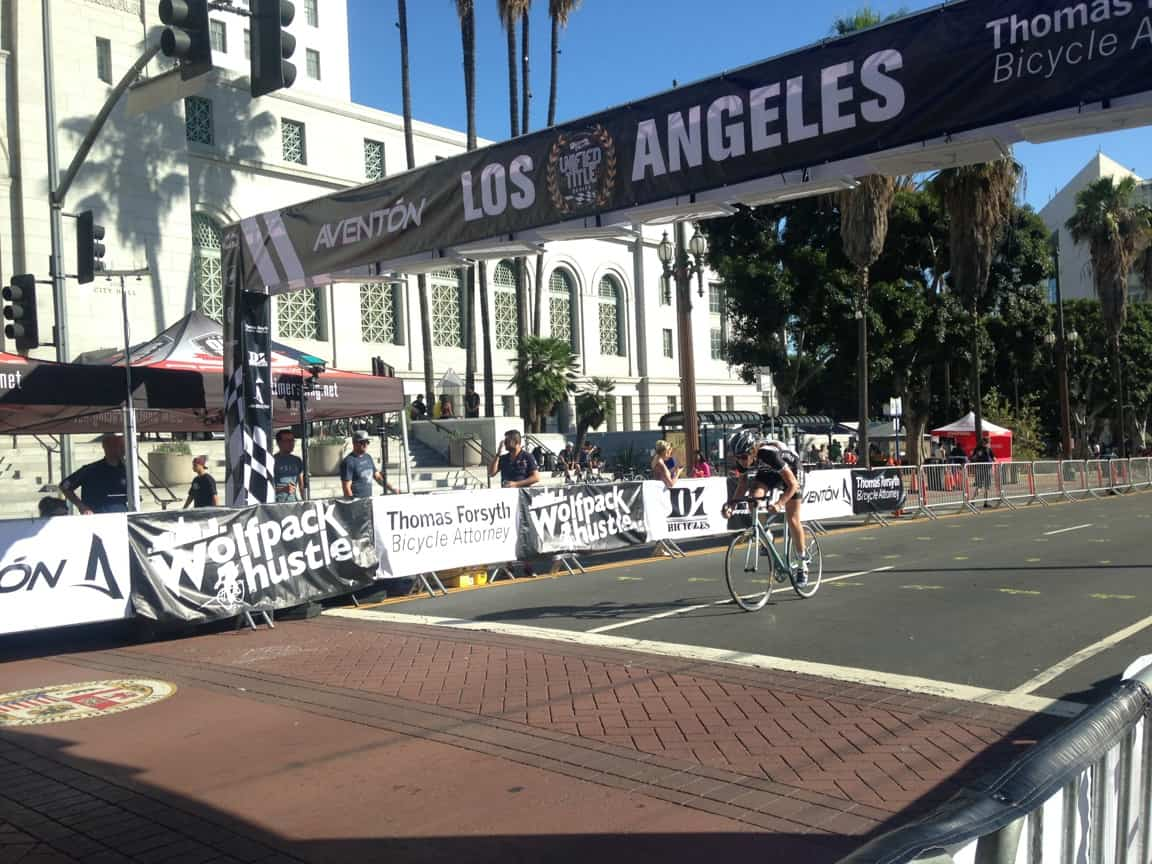 Christina Peck at the Wolfpack Civic Center Crit
