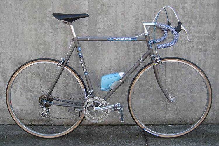 Teledyne Titan 1970's titanium road bike